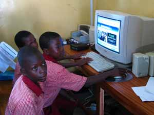 Light Nursery and Primary School Computer Lab